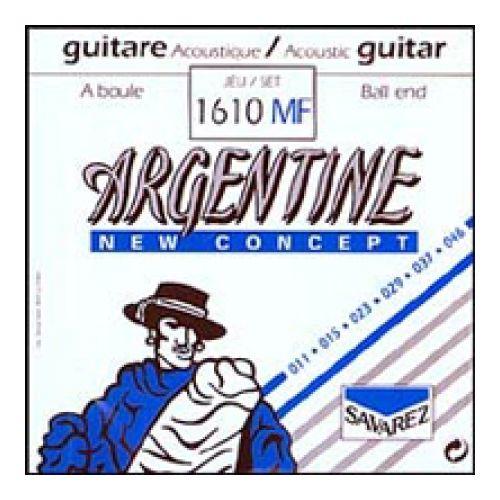 Savarez 1610 Mf Argentine Light Ball End Guitar Acoustic 6