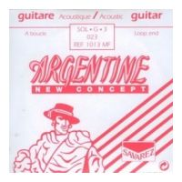 Thumbnail of Savarez Argentine - 1013MF loop-end Sol-3 omwonden zilver metaal 023