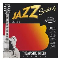 Thumbnail of Thomastik JS111 Jazz Swing Flat wound