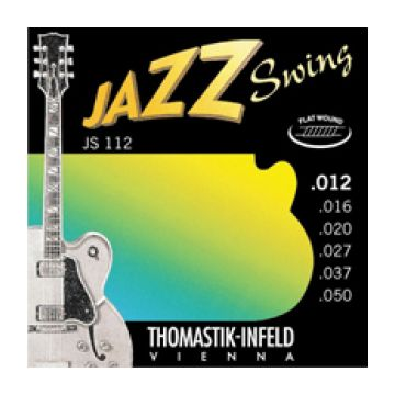 Preview of Thomastik JS112 Jazz Swing  Flat wound