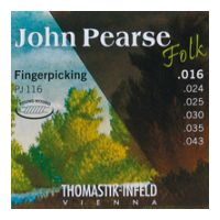 Thumbnail of Thomastik PJ116 John Pearse Folk Flat wound
